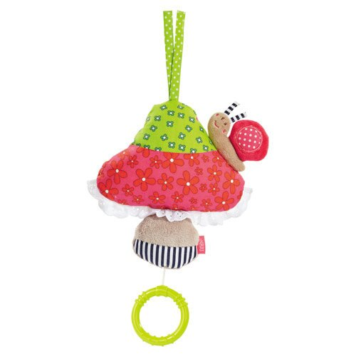 babyFEHN 芬恩 - 童話森林蘑菇拉環音樂玩具 0