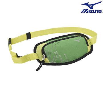 33TM600635(綠) 運動用(加大) 腰包 【美津濃MIZUNO】