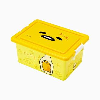 【真愛日本】ED方形收納箱S-GU三麗鷗家族 蛋黃哥 Gudetama 收納盒置物日用品