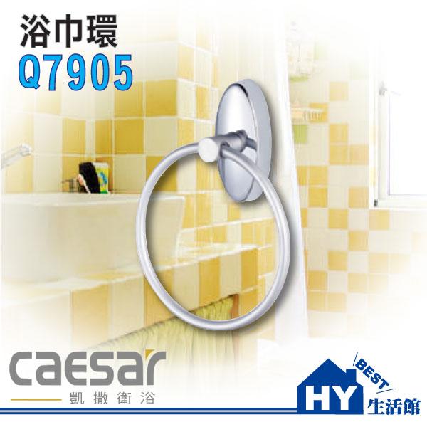 Caesar 凱撒衛浴 Q7905 浴巾環 毛巾環《HY生活館》水電材料專賣店