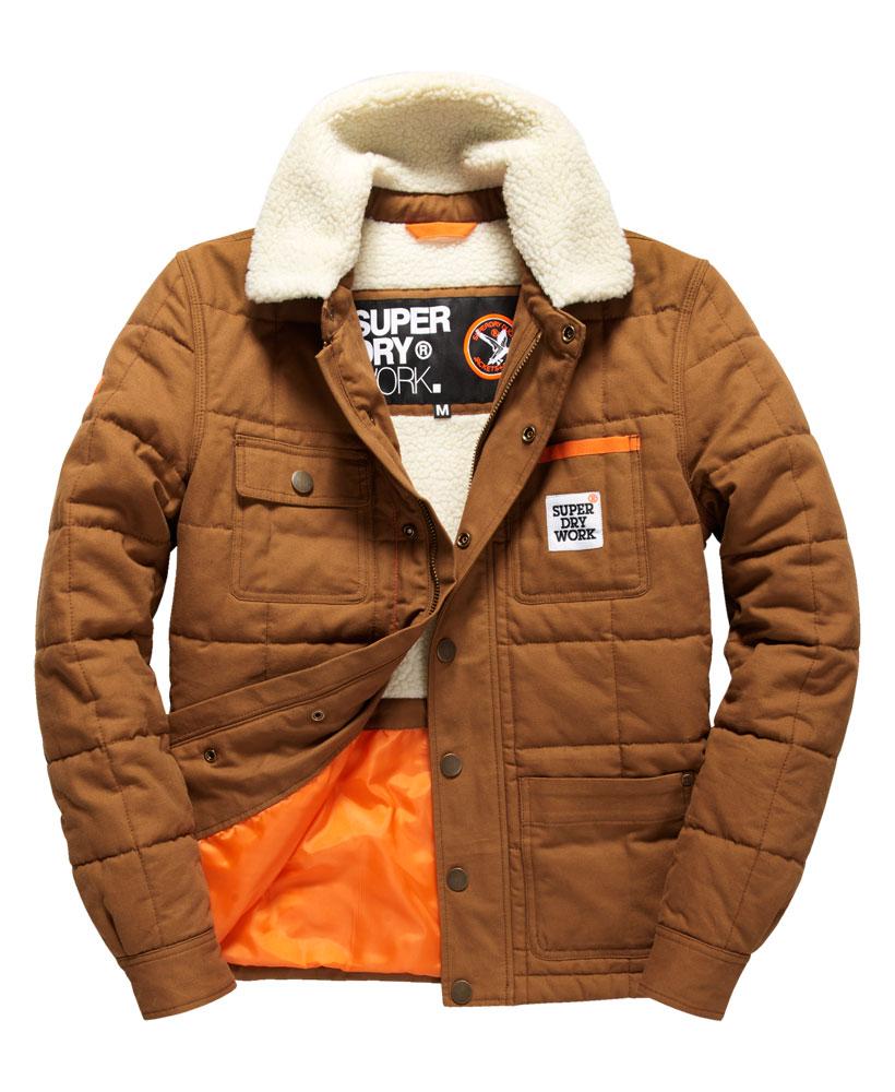 [男款] 英國代購 極度乾燥 Superdry Redford 男士風衣戶外休閒外套夾克 防水 防風 保暖 棕褐色 0