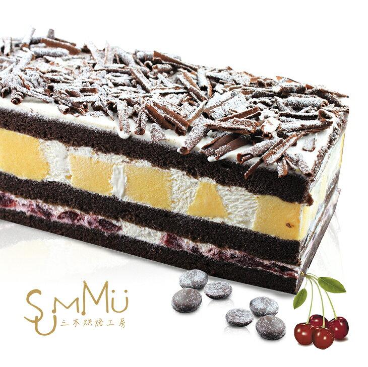 SUMMU赤裸の森林蛋糕★黑櫻桃巧克力蛋糕 2