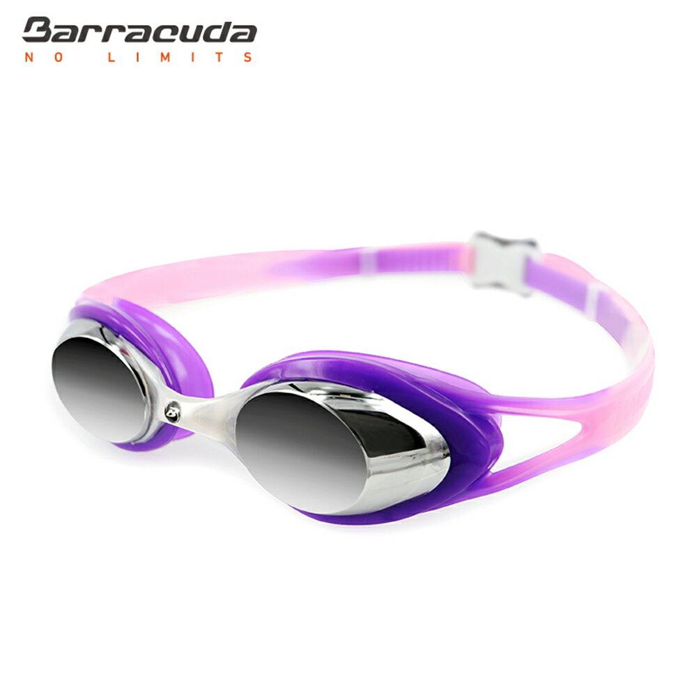 美國巴洛酷達Barracuda兒童抗UV電鍍泳鏡-CARNAVAL#34710 7