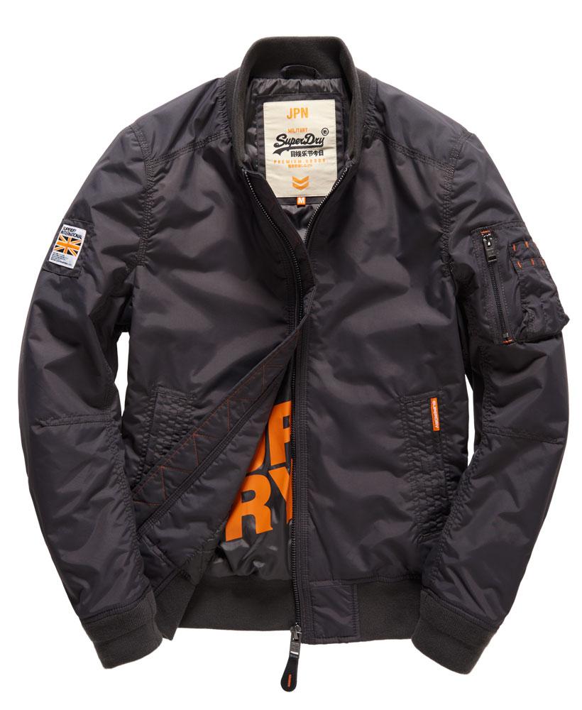 [男款]英國名品代購 極度乾燥 Superdry RSD Lite Pilot MA-1男士防水防風飛行外套夾克風衣 深灰色 0
