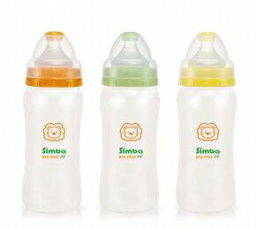 『121婦嬰用品館』辛巴 PP寬口胡蘆大奶瓶 330ml 0