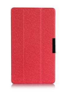 三星Tab S8.4吋保護套 文逸超薄三折蠶絲紋平板皮套T700 T705C休眠 保護皮套【預購】