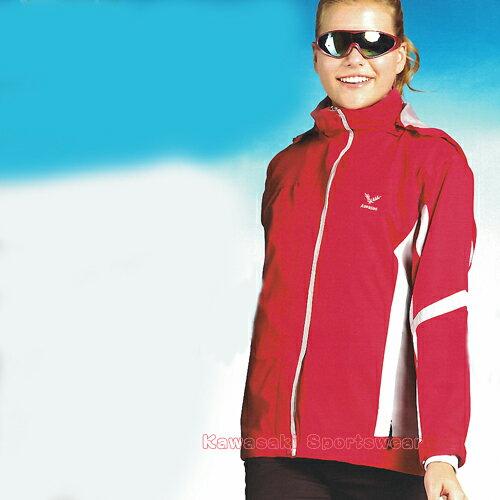 【日本Kawasaki】女版休閒功能性二件式薄裡外套(桃紅)#KW251A - 限時優惠好康折扣