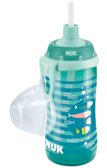 『121婦嬰用品館』NUK 防漏吸管杯 - 300ml 0