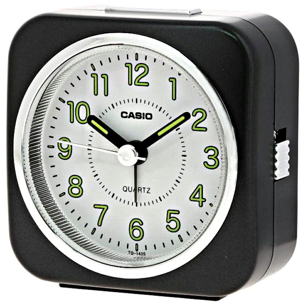 CASIO 卡西歐 TQ-143S 經典復刻版桌上型指針鬧鐘 1