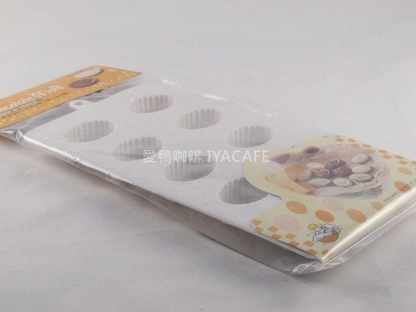 《愛鴨咖啡》NO-1156 日本CakeLand 巧克力模型-木之葉 10格