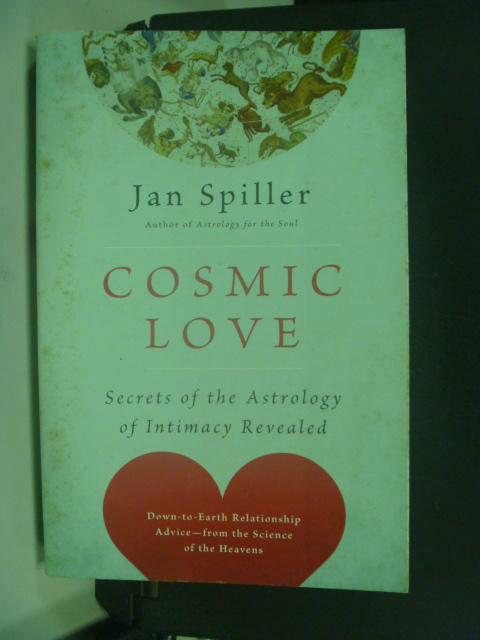 ~書寶 書T6/原文小說_NIP~Cosmic Love_Spiller Jan