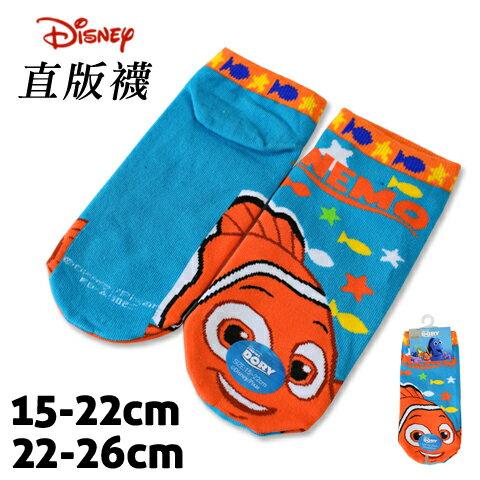 【esoxshop】迪士尼 直版襪 尼莫款 海底總動員 台灣製 Disney