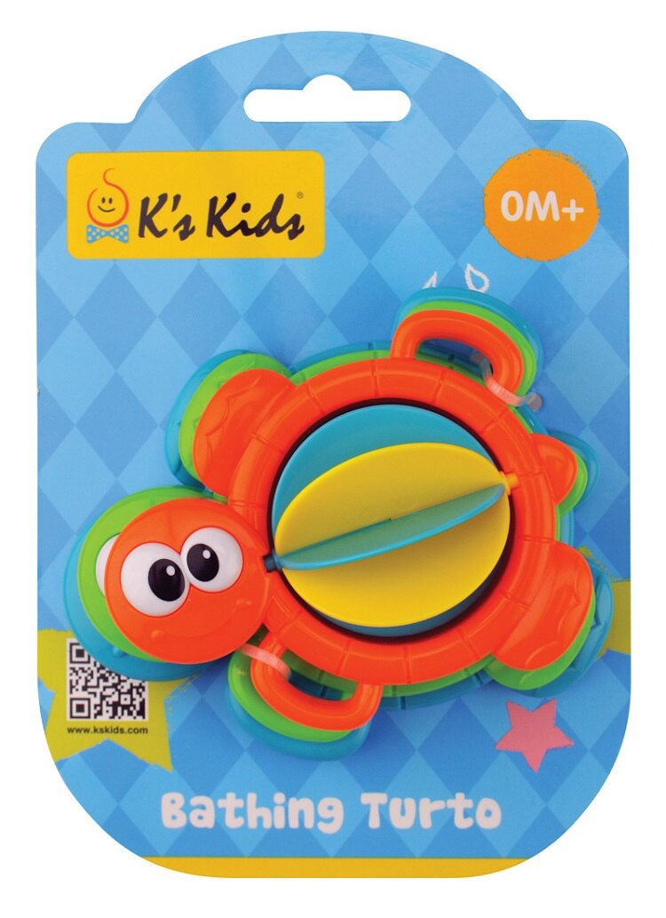 【安琪兒】【K's Kids】Bathing Turto 洗澡小烏龜-10月底到貨 0
