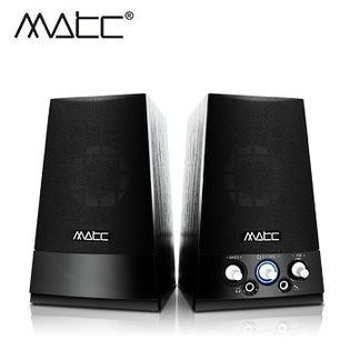 [良基電腦] 【MATC】MA-2210 2.0聲道 魔音天使多媒體音箱 [天天3C]