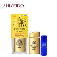 SHISEIDO 資生堂商品推薦SHISEIDO資生堂 ANESSA 安耐曬 金鑽高效防曬露SPF50+ 60ml 再送一瓶全能潔膚油20ml