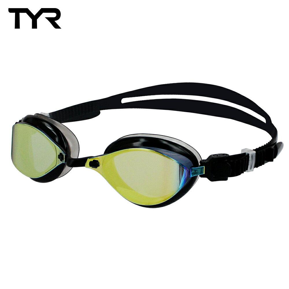 美國TYR 成人用競速電鍍泳鏡 Laser Evo Metallised 台灣總代理-電鍍防霧鏡片 - 限時優惠好康折扣