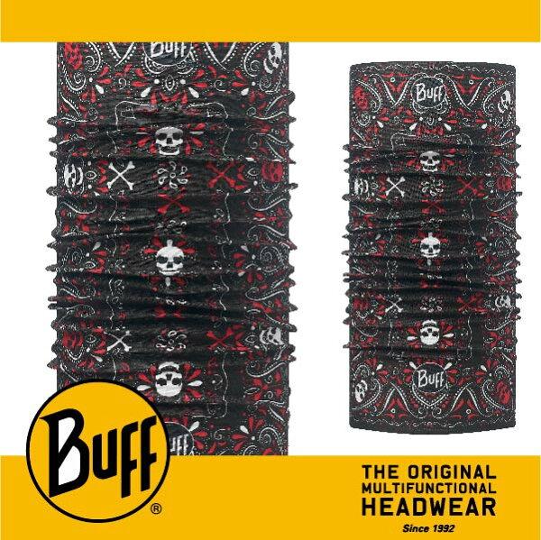 BUFF 西班牙魔術頭巾 經典系列 [搖滾死神] BF113037-999-10