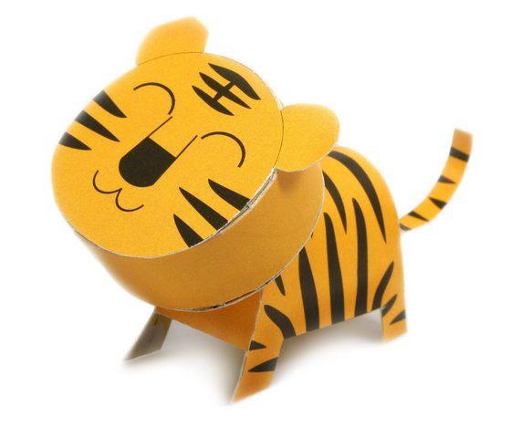 *GouQu* ★猴子設計★ 紙模型明信片-動物篇(60款)