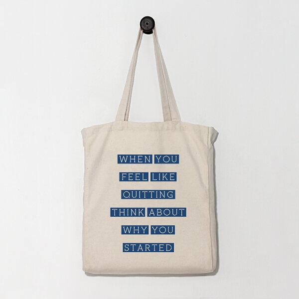 [WHY YOU STARTED] 購物袋/帆布袋/托特包/環保袋/Eco包/日用袋