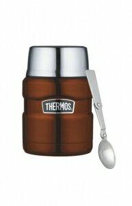 【安琪兒】日本【Thermos】高效能保溫食物罐-附匙(咖啡) - 限時優惠好康折扣