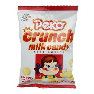 不二家PEKO牛奶脆糖Crunch Milk Candy  (51.2g)