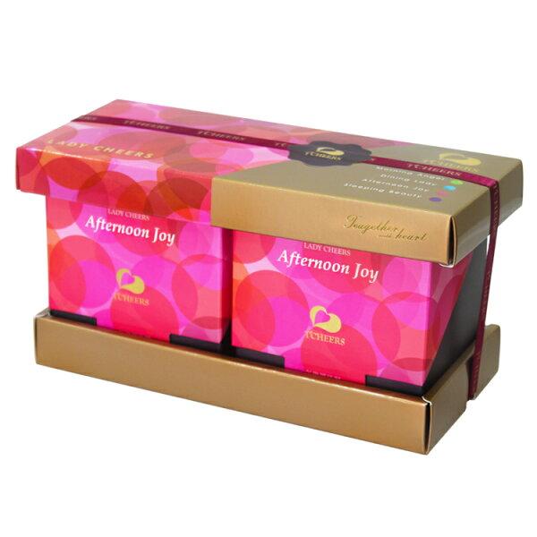 Lady Cheers 禮盒組 午後黑佳麗*2盒/組(3g*8包/盒*2入組) 黑醋栗果茶 花果茶 花草茶 花茶