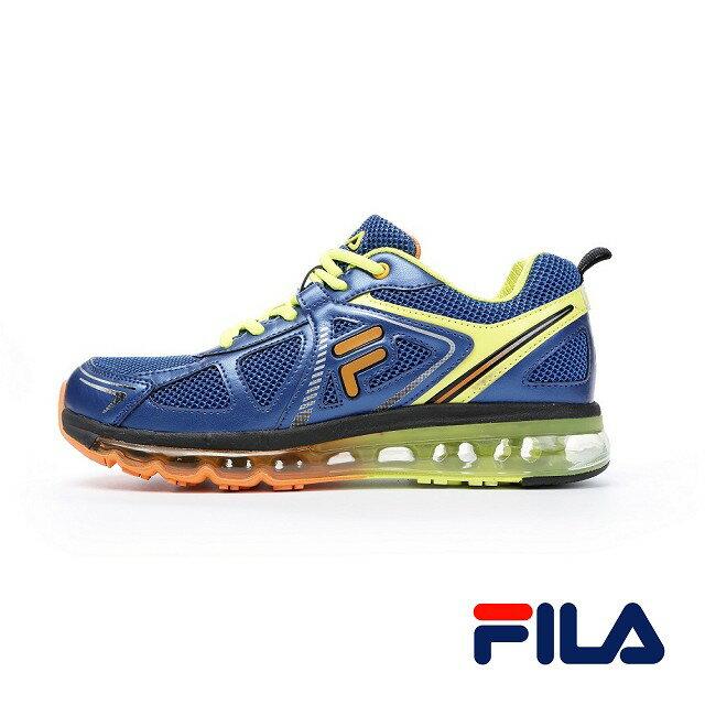 FILA 男款機能全氣墊慢跑鞋 J925P-366 1