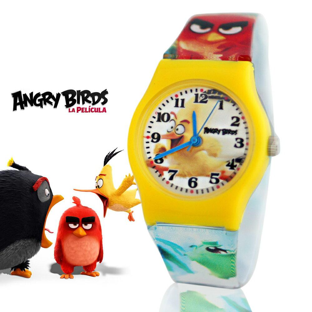 Angry Birds 憤怒鳥正版授權卡通休閒膠錶 - 奔跑瑞德 2