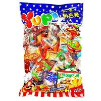 萬聖節Halloween到(印尼) Yupi 呦皮超值組合餐軟糖( Yupi QQ糖 呦皮QQ軟糖/萬聖節/聖誕節必備QQ糖)1包 540 公克 特價 125  元 【4711402820009 】