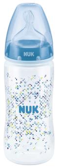 『121婦嬰用品館』NUK 寬口徑PP奶瓶300ml - (1號中圓洞) 0