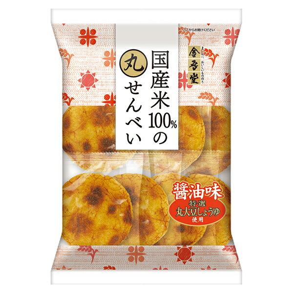 【金吾堂】丸大豆醬油仙貝 8枚入 88g