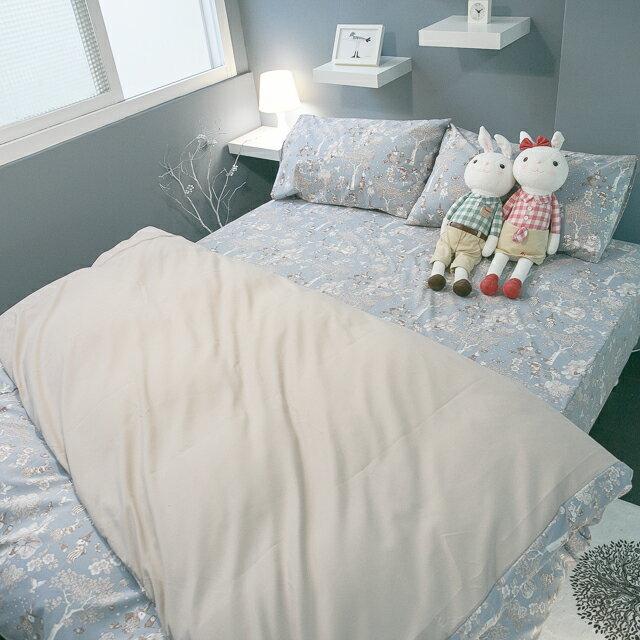 鹿先生的奇幻小屋  加大/Kingsiz賣場   舒適磨毛布 台灣製造 8