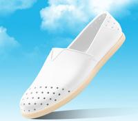 native 輕量懶人鞋、休閒防水鞋到NATIVE  SHOES - Verona水手鞋 - shell white solid(全白)