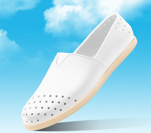 NATIVE  SHOES - Verona水手鞋 - shell white solid(全白)