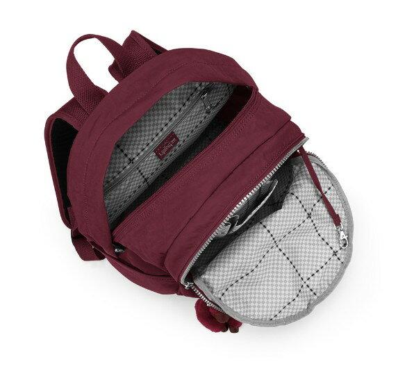OUTLET代購【KIPLING】時尚經典Seoul旅行袋 斜揹包 肩揹包 後揹包 酒紅色 2