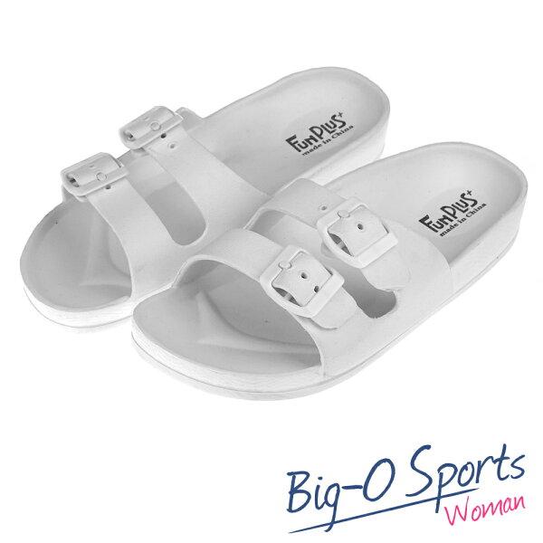 秒殺新款!!!  FUN PLUS+  輕便鞋 涼鞋 運動拖鞋  女 116101850000  Big-O Sports