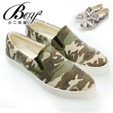 ☆BOY-2☆【NKP-UP76】韓迷彩風休閒懶人鞋 0