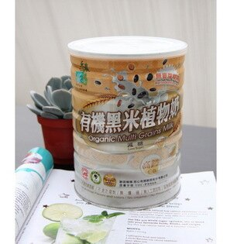 【禾農】有機黑米植物奶(850g/罐)