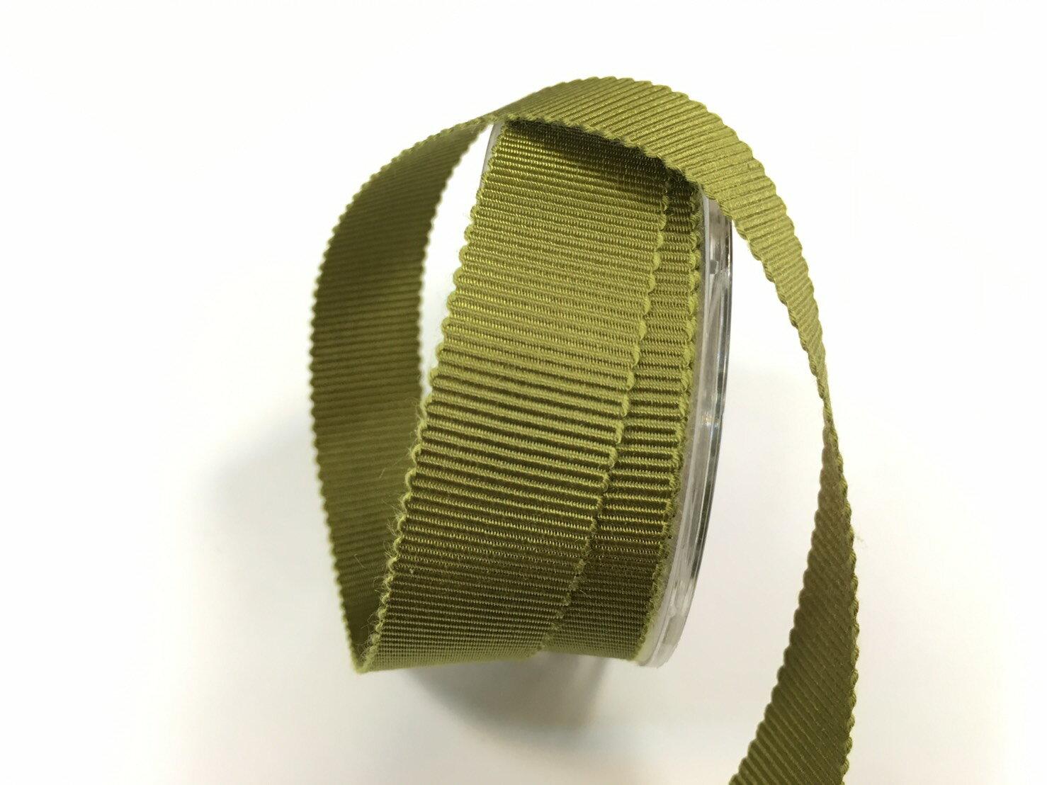 迴紋帶 羅紋緞帶 15mm 3碼 (22色) 日本製造台灣包裝 0
