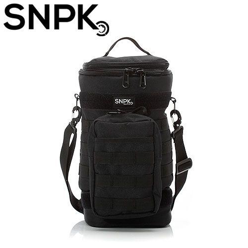 SNPK 多功能汽化燈收納袋S-經典黑 露營用品/營燈收納攜行袋 台北山水