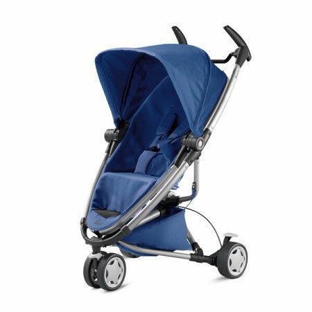 【贈提籃+專用杯架+搖搖椅】荷蘭【Quinny】Zapp Xtra2嬰兒推車(銀管藍) 1