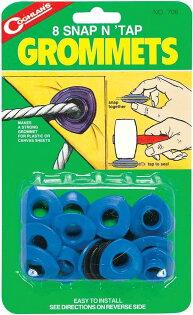 【鄉野情戶外專業】 COGHLAN'S |加拿大|  營帳塑膠扣環 PLASTIC GROMMETS/天幕帳外帳配件_706