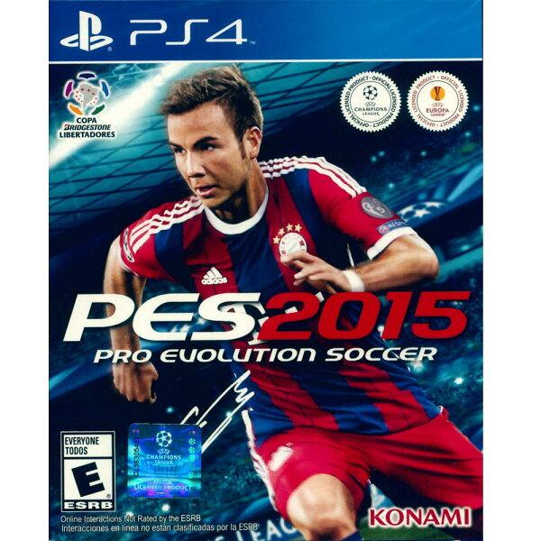 PS4 世界足球競賽 2015 英文美版 Pro Evolution Soccer 2015 PES 實況