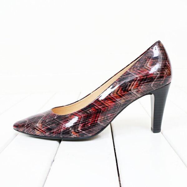 Gabor 菱紋未來感時尚低跟鞋 5