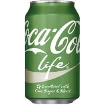 『Coca Cola Life 』綠可樂 355ml/瓶