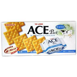 Yo Long 優龍 Crown ACE 原味牛奶營養餅乾 200g