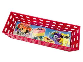 【豪上豪】吉米長積木盒K621/吉米熊系列/置物籃/盒子/收納盒(不挑色)