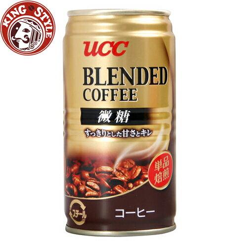 金時代書香咖啡【UCC】上島咖啡 Blended咖啡微糖飲料(185g)