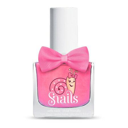 【安琪兒】法國【Snails希臘神話 】兒童水性無毒指甲油-粉紅碰碰 0