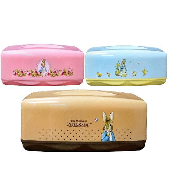 【晨光】彼得兔 繽紛PP面紙盒 (粉、咖啡、藍三色) (095401) 【現貨】